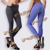 Athleisure йога работает тренажерный зал тренировки отрабатывать тонкий фитнес спорт брюки леггинсы одежда для женщины