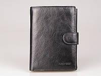 Портмане мужское LAS FERO 3-11005 12-630A, (пресованная кожа), черный