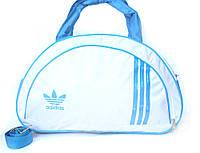Женская спортивная сумка Adidas белая (201)
