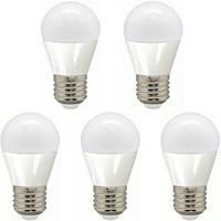 Набор светодиодных LED ламп FERON LB-95: шарик 5W 4000К E27 5 штук