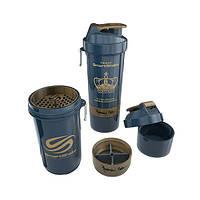Шейкер SMARTSHAKE - 800ML - RONNIE COLEMAN 800 ml + 2 контейнера для капсул и порошка
