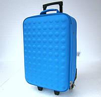 Дорожный чемодан на колесах синего цвета Доставка по Киеву и Украине