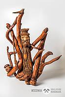 Сувенир статуэтка из натурального дерева