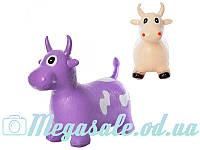 Прыгуны-коровки для детей от 1,5 лет: 2 цвета, ПВХ