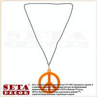 "Кулон ""Знак Peace,Пацифик- символ мира"" на шнурке"