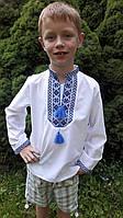 Вышиванка на мальчика длинный рукав Козачок