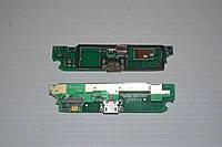 Шлейф (Flat cable) с коннектором зарядки, микрофона, виброзвонка для Lenovo S720