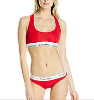 Спортивный комплект Calvin Klein стринги, красный