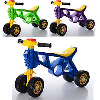Детский ролоцикл - каталка (беговел) от ТМ Orion, 4 колеса.