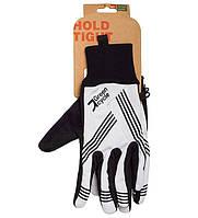 Перчатки Green Cycle NC-2401-2014 WindStop с закрытыми пальцами XL черно-белые