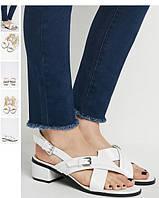 Белые сандалии 38,5 р