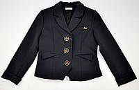 Пиджак, Жакет Габби Suzie черный, размер 122