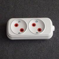 Horoz Electric Колодка (для удлинителя). 10А. 250V. Без заземления LUX-534321