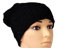 Классическая черная шапочка