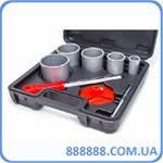 Набор сверл 33-83мм вольфр. напыление+напильник+чемодан SD-0428 Intertool
