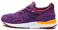 Женские кроссовки Asics Gel Lyte V (асикс гель лайт 5) фиолетовые
