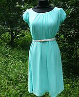 Женское платье  для беременных нарядное  из шифона Стелла   размеры 42, 44, 46, 48