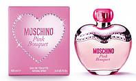 Женская оригинальная туалетная вода Moschino Pink Bouquet ,100 мл NNR ORGAP /05-43