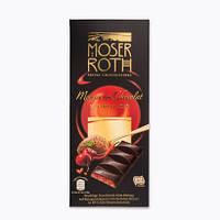 Черный шоколад Moser Roth вишня перец