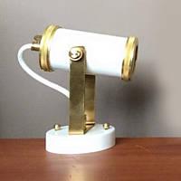 Настенно-потолочный светильник (Спот) Loft Steampunk [ Spot tube White ]