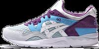 Женские кроссовки Asics Gel Lyte V (асикс гель лайт 5) голубые