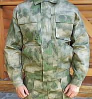 """Куртка для охоты и рыбалки """"Атлант"""" камуфляж А-TACS FG рип-стоп"""