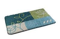 Коврик для ванной комнаты из микрофибры 50*80 с узором AWD02160778