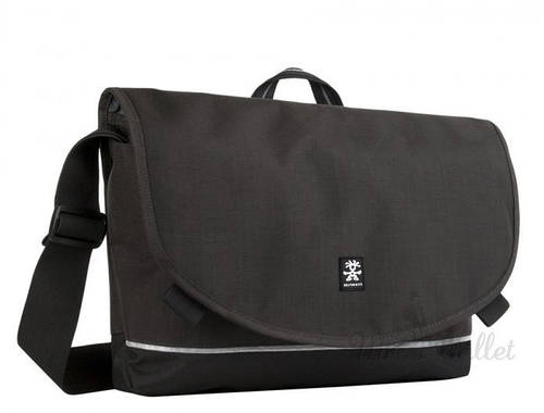 Небольшая городская сумка 8 л. Proper Roady Slim Crumpler PRYSL-M-001 черный