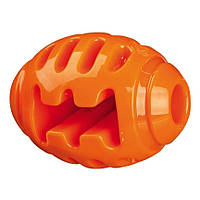 Trixie Soft and Strong Rugby Ball TPR Floatable игрушка для собак Мяч регби ТПР 10см