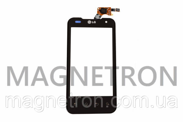 Сенсорный экран (тачскрин) для мобильных телефонов LG P990, фото 2