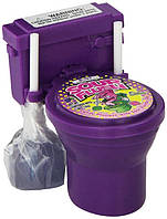 Sour Flush Candy Toilet  Необычные конфетки Унитазики с кислой присыпкой - Фиолетовый