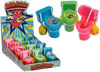 Sour Flush Candy Plugers And Powder Dip Toilet  Необычные конфетки Туалетик