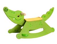 """Деревянная игрушка """"Крокодил-качалка"""""""