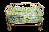Комплект белья   в кроватку с бортиками