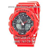 Часы Casio G-Shock Ga-100 Red-Black
