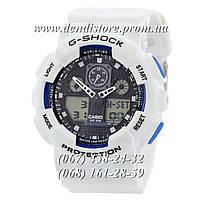 Часы Casio G-Shock Ga-100 White-Black