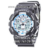 Часы Casio G-Shock Ga-100 White-Black Dial