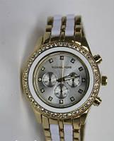 Часы женские Michael Kors кварцевые белые с золотистым корпусом