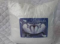 Подушка на молнии 70х70 лебяжий пух