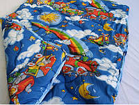 Одеяло детское шерстяное 110х140 см