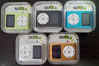 Мини MP3-плеер МП3 с радио FM с дисплеем, MP3+ fm display