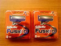 Сменные картриджи для бритья Gillette Fusion (8) Распродажа со склада