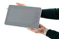 Монитор домофона PC-938R2 220В Встроенный блок питания, Белый цвет корпуса, ЗЕРКАЛЬНЫЙ цветной домофон