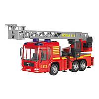 Игрушечные машинки и техника «Dickie Toys» (3716003) пожарная автолестница, 43 см