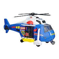 """Игрушечные машинки и техника «Dickie Toys» (3308356) вертолёт службы спасения с лебёдкой """"Helicopter"""", 32 см"""