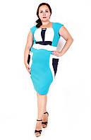 Летнее платье размер плюс Николь   48-54, фото 1