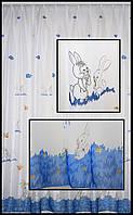 Купить не дорогую тюль на окна в детскую комнату