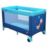 Манеж-кровать Baby Mix HR-8052-134, красный