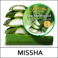Увлажняющий премиум гель от Missha Premium Aloe Soothing & Moisture.