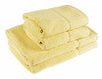 """Полотенце (50х90 см) махровое ZT """"Super Soft"""" для лица, соломенное"""